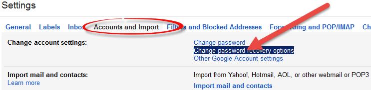 Schimbarea telefonului in gmail pas2 1