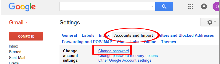 Schimbare parola cont gmail pas2